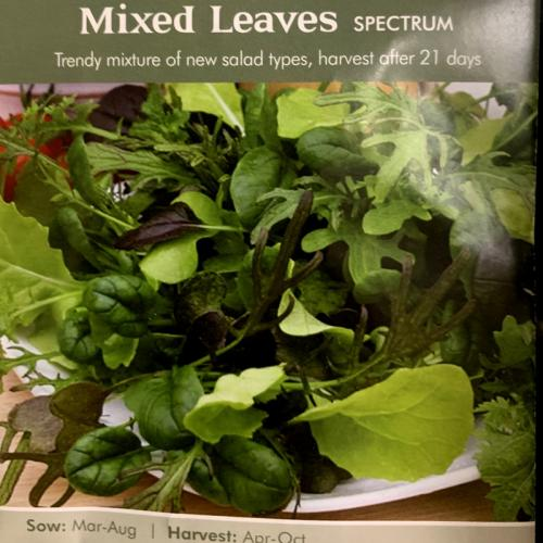 MIXED LEAVES Spectrum