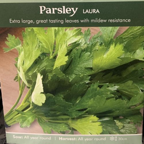 PARSLEY Laura