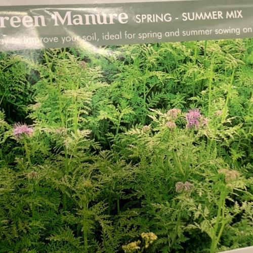GREEN MANURE Spring - Summer Mix