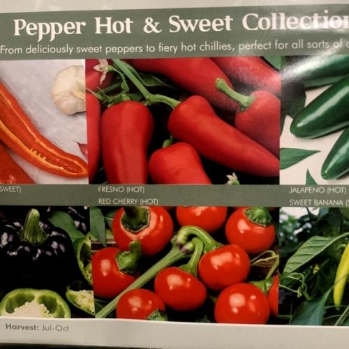 PEPPER HOT & SWEET COLLECTION