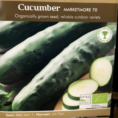 ORG CUCUMBER Marketmore 70